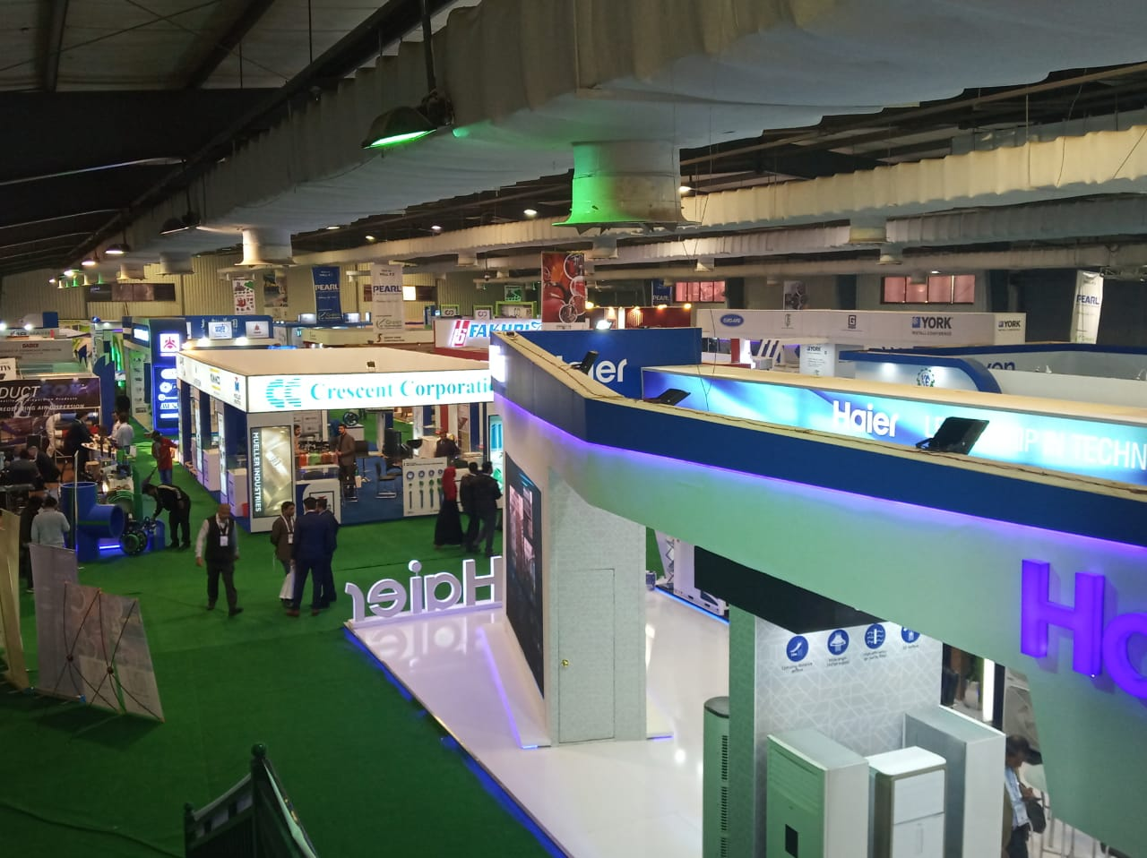 26th HVACR Expo and Conference continues in Expo Center Karachi