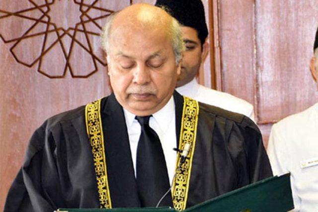 Justice Gulzar Ahmed CJP