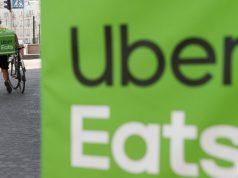 Uber eat service