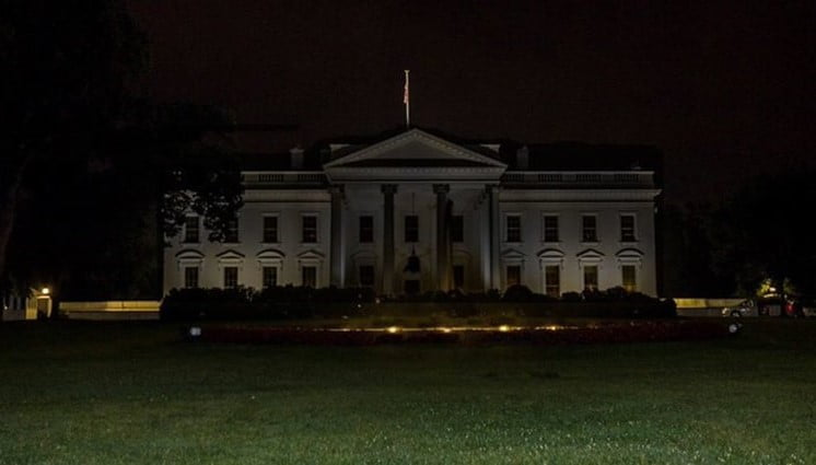 White House in Blackout